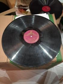 老唱片苏联舞曲。《CBnbc》《华尔斯舞曲》大片30cm。
