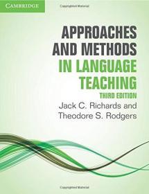 现货 Approaches and Methods in Language Teaching 语言教学的流派(第3版)英文原版 Jack C. Richards