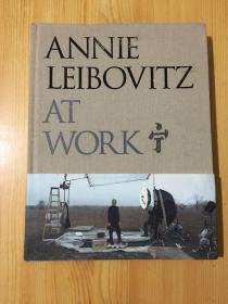 ANNIE LEIBOVITZ AT WORK(16开 布面精装  英文版)