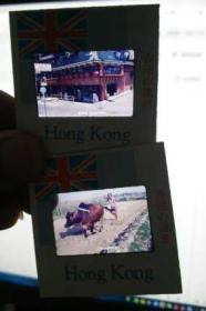 香港  景色 幻灯片  2盒40枚