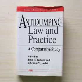 Antidumping Law and Practice: a Comparative Study (精装有护封)