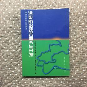 污染防治技术研究与开发:中日合作研究成果集