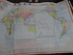 世界地图挂图 (大全张)