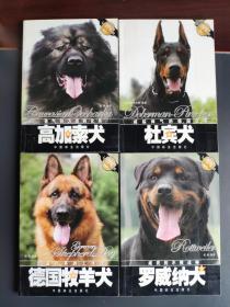 爱犬系列丛书《高加索犬》《杜宾犬》《罗威纳犬》《德国牧羊犬》四本合售