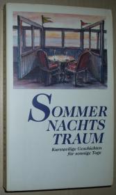 德语原版书 Sommer Nachts Traum : Kurzweilige Geschichten für sonnige Tage 仲夏夜 有趣的故事