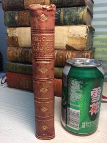 SHORT STUDIES ON GREAT SUBJECTS 1915全皮装帧  三面刷金