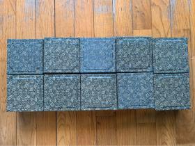 【铁牍精舍】【金石篆刻】 90年代前后一两装美丽印泥10盒,回流,无签,包装与上海西泠印社出口印泥相同