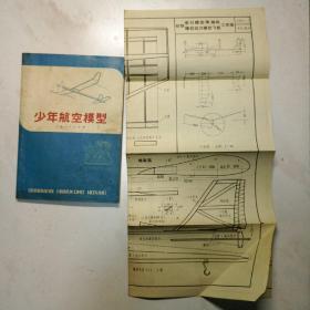 少年航空模型及初级牵引模型滑翔机等工作图