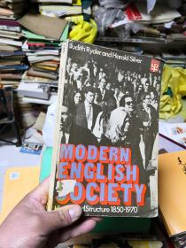 MODERN ENGLISH SOCIETY   高于八品         G5