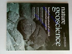 nature geoscience 2013/05 外文原版过期自然地球科学杂志