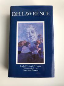 英文原版 D. H. Lawrence 劳伦斯最佳3部小说集  包括 儿子与情人 查泰来夫人的情人 恋爱中的女人 Lady Chatterleys Lover/ Women in Love/ Sons and Lovers