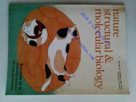 Nature structural & molecular biology 2013/05 外文原版生物学杂志