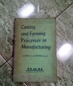 CastingandFormingprocessesinManufaturing