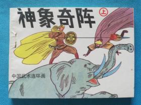 连环画:神象奇阵(上下),中国武术大缺本