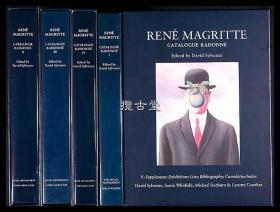 Rene Magritte:Catalogue Raisonne  勒内·马格里特 1916-1967作品大全集   1992-1997年发行