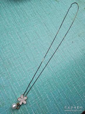 淡水珍珠 毛衣鏈