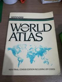 WORLD  ATLAS  英文原版