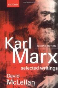 Karl Marx:Selected Writings