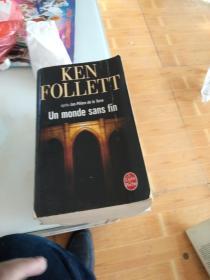 外文原版 Ken follett--un monde sans fin