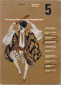 The Journal of Decorative and Propaganda Arts, 5,