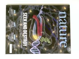 自然原版外文杂志期刊 nature 507 1-134 2014/03/06 no.7490