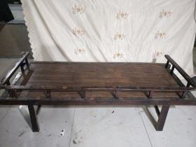 清代老漆器涼床一張 長197厘米·寬80厘米 保存的非常完整·全國包物流,