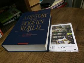英文原版  a history of the modern world  ( eighth edition )  现代世界史  第8版 精装  英文原版教材美国原版教材英文教材历史类教材//