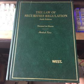[精装原版外文]THE LAW OF SECURITIES REGULATION 证券监管的法律