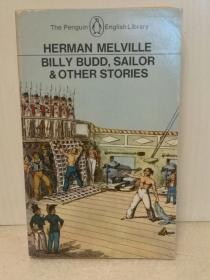 赫尔曼·梅尔维尔 Billy Budd and Other Tales by Herman Melville ( Penguin Books 1967年版) (美国经典文学)英文原版书