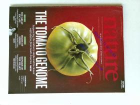 自然原版外文杂志期刊 nature 485 541-672 2012/05/31 no.7400