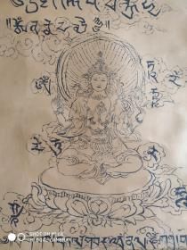藏文【佛像】国画