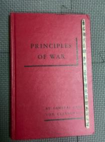 principles of war 战争原理 英文原版 卡尔 冯 克劳塞维兹名著