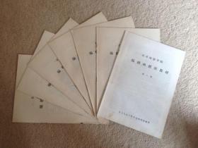 北京电影学院编剧函授班教材(第1、2、3、4、5、6、7讲)【图片为原书图片,出售的是复印版(原书复印版).】