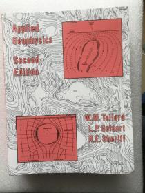 现货 Applied Geophysics 英文原版 应用地球物理  (英)W.M.特尔福德(W.M. Telford)