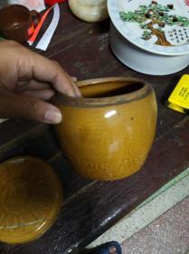 石湾罐,可当茶叶罐