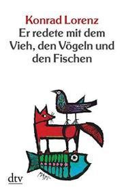 德国原版 德文德语 Er redete mit dem Vieh, den Vögeln und den Fischen 所罗门王的指环 康拉德·劳伦兹 平装软皮