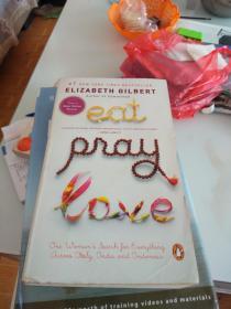 英文原版 Elizabeth gilbert--eat ,pray,love