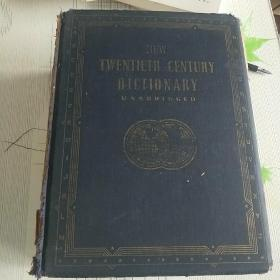 NEW TWENTIETH CENTURY DICTIONARY