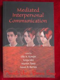 Mediated Interpersonal Communication(英语原版 平装本)中介人际沟通
