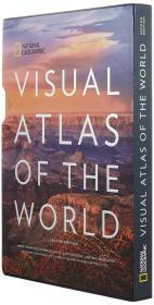 英文原版 美国国家地理 世界实景地图集 National Geographic Visual Atlas of the World 最新2017第二版