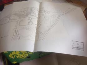 日本有名庭园实测图纸  29-30号 依水园 +永保寺 共两张图纸
