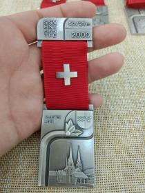 徽章 奖章 纪念章 瑞士 射击比赛 2000