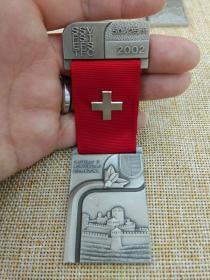 徽章 奖章 纪念章 瑞士 射击比赛 2002