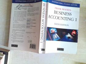 FRANK WOODS BUSINESS ACCOUNTING 1··16开 有笔迹