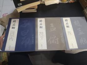 历代名家书法经典---赵孟頫3册全