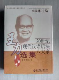 20世纪现代汉语语法八大家:王力选集