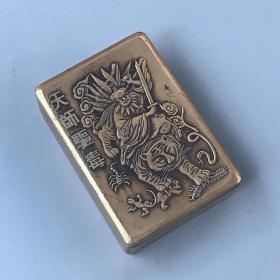 天狮驱毒纯铜方墨盒