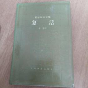 托尔斯泰文集 复活 译文精装箱十二
