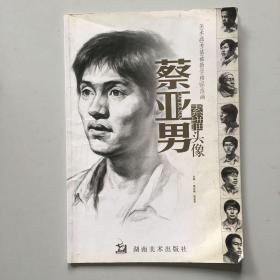 美术高考基础教学精品范画:蔡亚男素描头像