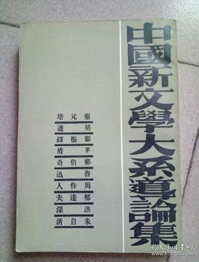 中国新文学大系导论集(竖版繁体)
